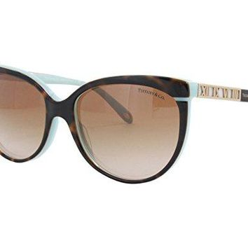 Tiffany & Co. 4097 81343B 56mm Tortoise Blue/ Brown Gradient Sunglasses