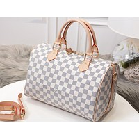 LV Fashion Printed Baggage for Men and Women