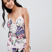 B By Ted Baker Kensington Floral Pyjama Short at asos.com