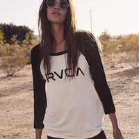Big RVCA Raglan T-Shirt