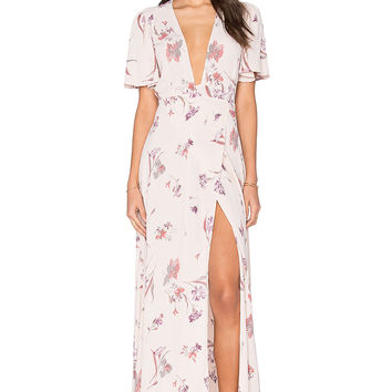 Privacy Please Plaza Kimono Dress in Pixie