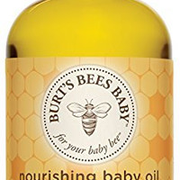 Burts Bees Baby Baby Nourishing Oil, 4 Ounces (Packaging May Vary)