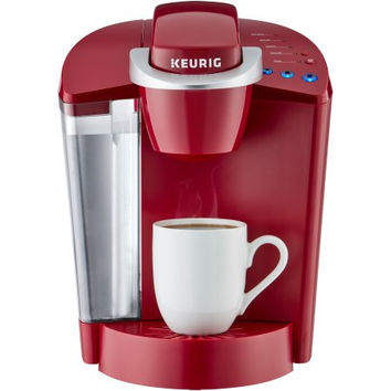Keurig K50 Red Black Automatic Programmable Coffee Tea Maker Brewer
