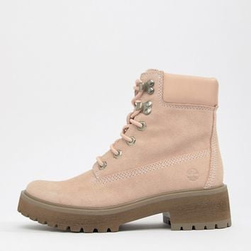 Timberland Carnaby Cool 6 Inch Suede Rose Ankle Boots at asos.com