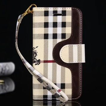 Perfect Burberry Phone Cover Case For  iphone 6 6s 6plus 6s-plus 7 7plus 8