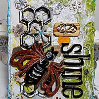 Shine Mixed Media Canvas Board. Ready to Ship