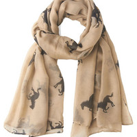 ModCloth She's a Lucky Gallop Scarf