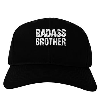 Badass Brother Adult Dark Baseball Cap Hat