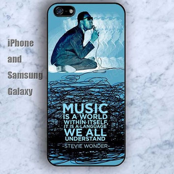 life music is a world colorful iPhone 5/5S case Ipod Silicone plastic Phone cover Waterproof