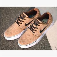 """NIKE"" Trending Fashion Casual Sports Shoes Brown"