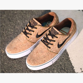 """""""NIKE"""" Trending Fashion Casual Sports Shoes Brown"""