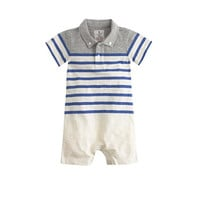 Baby Polo Shirt One-Piece - crewcuts