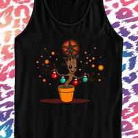 Groot Lamp black tanktop for men and women
