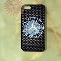 Mercedes Benz Car Logo-iPhone 5 , 5s 4s, 4 case,Ipod touch 5, Samsung GS3, GS 4 case - Silicone Rubber or Hard Plastic Case, Phone cover