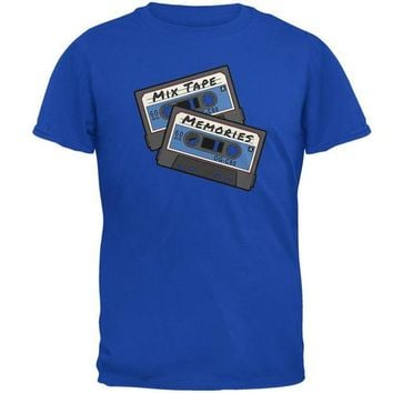 DCCKU3R Mix Tape Memories Cassette Mens Soft T Shirt
