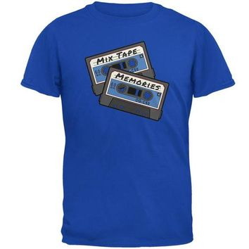 DCCKIS3 Mix Tape Memories Cassette Mens Soft T Shirt