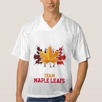 Team Maple Leafs Football Tournament Jersey