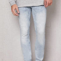 PacSun Stacked Skinny Side Zip Light Wash Stretch Jeans at PacSun.com