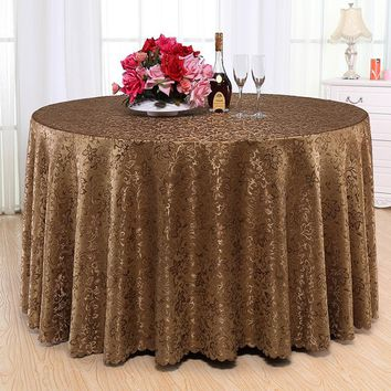 Luxury Plain Dyed Tablecloth