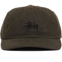Wax Cotton Low Pro Cap Green