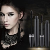 Fashion Black Long Lasting Mascara Eyelash Curling Lashes Extension Makeup Tool