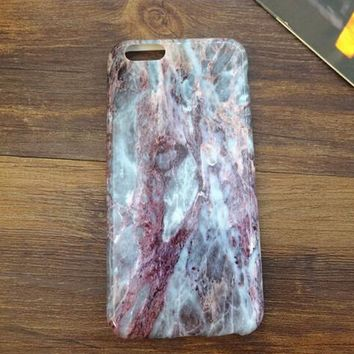 Marble Stone iPhone 7 5se 5s 6 6s Case Top Quality Cover Newest Gift + Gift Box-170928