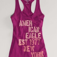 AEO Women's Signature Striped Tank