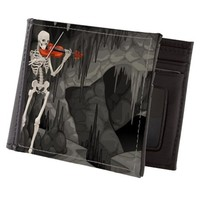 skeleton violin Mens Wallet