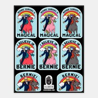 Bernie Unicorn Stickers