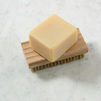 Soap Dish With Brush
