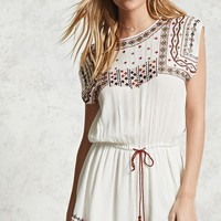 Contemporary Embroidered Romper