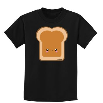 Cute Matching Design - PB and J - Peanut Butter Childrens Dark T-Shirt by TooLoud