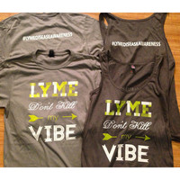 Lyme Don't Kill My Vibe - Lyme Disease Awareness Women's Tank