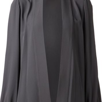 Michael Kors silk wrap blouse