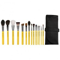 Studio The Collection 14pc. Brush Set with Roll-up Pouch - Studio