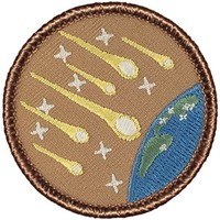 """Meteor Shower Patrol Patch - 2"""" Round - FREE SHIPPING!"""