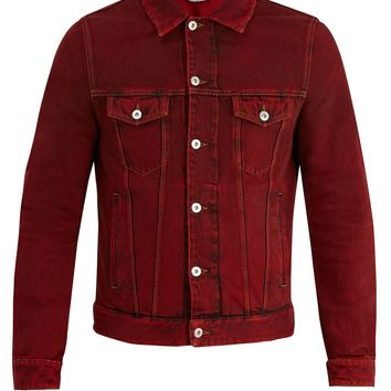 Overdyed denim jacket | Valentino | MATCHESFASHION.COM UK