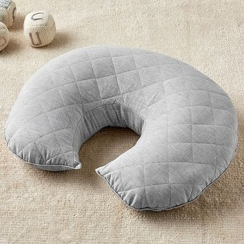 Gray Belgian Linen Boppy® Nursing & Infant Support Pillow & Slipcover