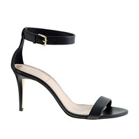 J.Crew Womens High-Heel Ankle-Strap Sandals