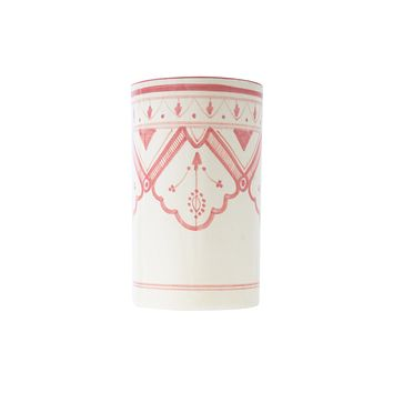 Large Compass Vase & Container - Pink