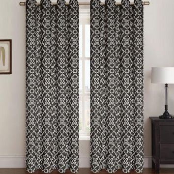 "2 Pack Alex Window Panel, Window Curtains , 54""x84"""