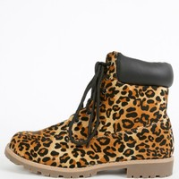 Jared-s Suede Lug Sole Combat Boots | MakeMeChic.com