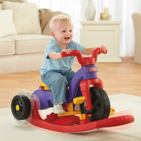 Fisher-Price Kids, Toddlers Rock, Roll 'n Ride On Push Rocking Trike