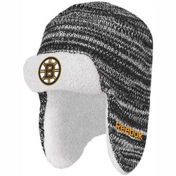 Boston Bruins Men's Reebok Trooper Knit Hat