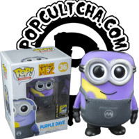 Despicable Me - Despicable Me 2 - Dave in Purple Minion Disguise Pop! Vinyl Figure (SDCC 2014 Exclusive)