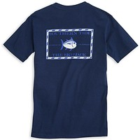 Original Skipjack Tee Shirt in Yacht Blue by Southern Tide