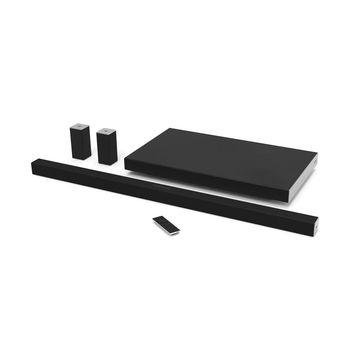 VIZIO 45 in. SmartCast 5.1 Sound Bar System with Rear Speakers and Wireless Subwoofer-SB4551-D5 - The Home Depot