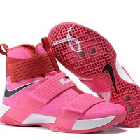 nike lebron soldier 10 ep breast cancer sneaker us7 12