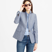 Regent blazer in chambray
