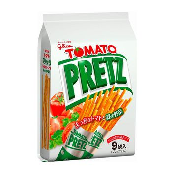Pretz Tomato Sticks Party Pack, From Japan, 4.73 oz (134 g)